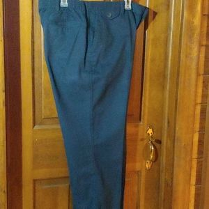 Men's Navy Dress Pants Size 40W x 29L